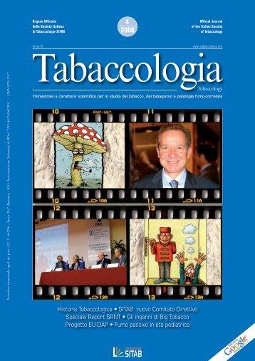Scarica n. 4/2008 - Società Italiana di Tabaccologia