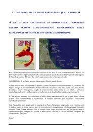 Creazione di Parchi Marini artificiali in Adriatico - Luca Vignoli