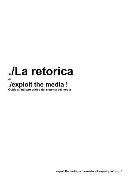 La Retorica