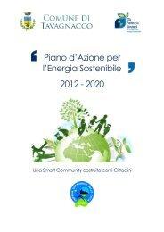 Piano d'Azione per l'Energia Sostenibile - Comune di Tavagnacco