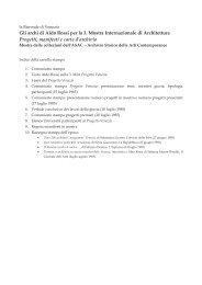 Gli archi di Aldo Rossi per la 3. Mostra Internazionale di ... - MC-link