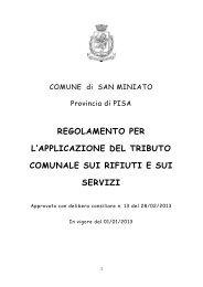 Clicca qui per consultare il regolamento Tares 2013 - Geofor