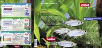 starter algen control - Amtra