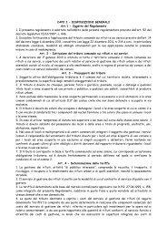 Regolamento TARES - Comune di Crespina