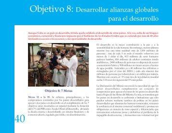 Objetivo 8 - Programa de Naciones Unidas para el Desarrollo