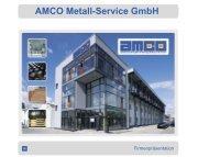 Firmenpräsentation - AMCO Metall-Service Gmbh