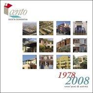 Libro sui 30 anni di attività della Cooperativa - Coop Cento