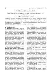Certificarea în informatica aplicata - Informatica Economica