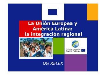 Crisis y cambio en la integración en América Latina