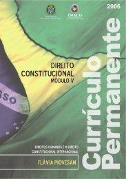 Caderno de Direito Constitucional - DHnet