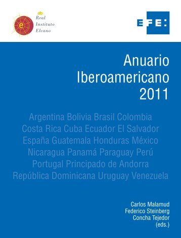 Anuario Iberoamericano 2011 - Ministerio de Relaciones Exteriores