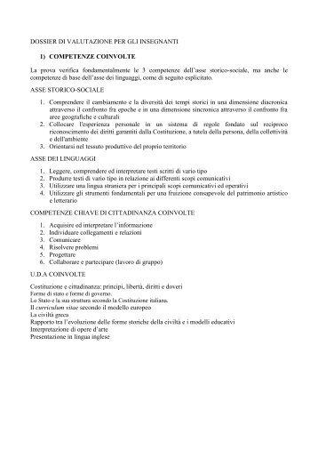DOSSIER DI VALUTAZIONE .pdf - A. Tambosi