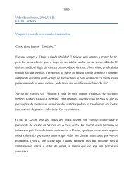 Viagem à roda do meu quarto e mais - Eliana Cardoso