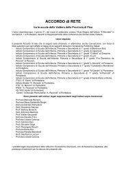 Accordo di rete Costellazioni 2005 - Valderassociata.altranet.it