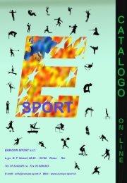 catalogo ginnastica attrezzistica - Europa Sport