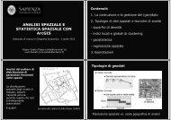 slides - Studi geoeconomici, linguistici, statistici, storici per l'analisi ...