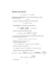 Sinusoide a fase aleatoria = ∑