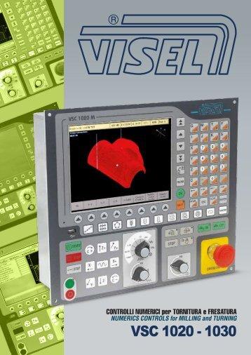 VSC 1020 - 1030 Controlli numerici per tornitura e fresatura