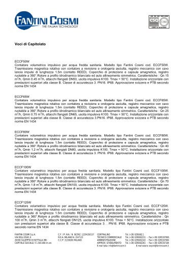 Eccm istruzioni fantini cosmi for Fantini cosmi ch141