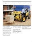 Scheda tecnica CAT TH360B fisso 13,60mt - Care Nolo Pavia - Page 7