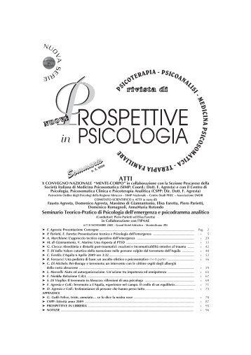 Download File - Rivista Nuove Prospettive in Psicologia