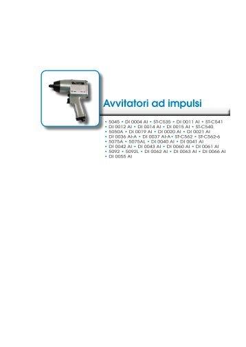 Download scheda tecnica avvitatori ad impulsi