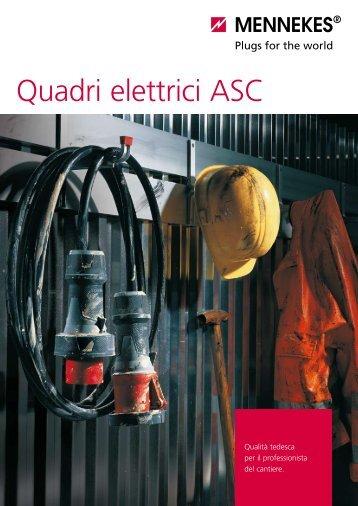 Quadri elettrici ASC - Mennekes