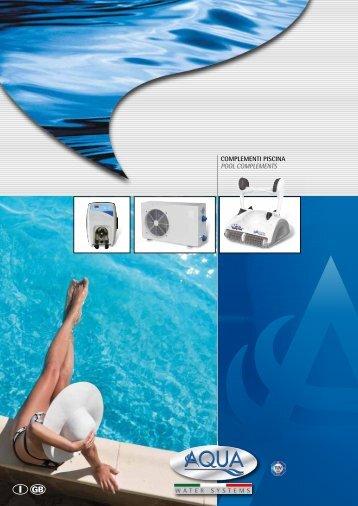 componenti e accessori piscine pool parts and accessories ...