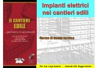Impianti elettrici nei cantieri edili - ASE :: Associazione per la ...