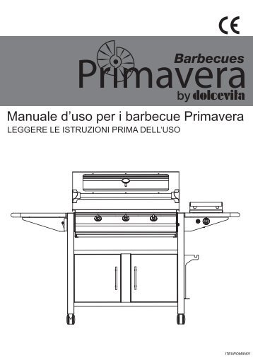 Istruzioni linea Primavera - ArredaTutto.it