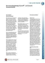 Korrosionsbeständige Guronit - Ugitech