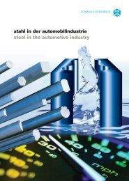 Stahl In Der Automobilindustrie Steel In The Automotive - SCHMOLZ ...