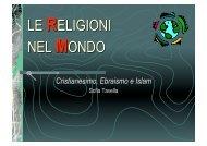 Cristianesimo, Ebraismo e Islam