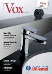 VOX cersaie 2012.pdf - Rubinetterie Fratelli Frattini