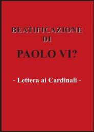 Lettera ai Cardinali titolo e fatti.qxp - Chiesa viva
