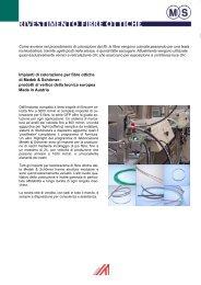 Impianto di colorazione per fibre ottiche - Medek & Schörner GmbH