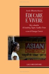 Educare e vivere. Idee scolastiche di Grundtvig, Tagore, Gandhi e ...
