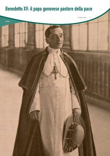 Benedetto XV: il papa genovese pastore della pace