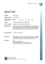 Hones LDC - Ugitech