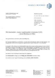 neues Bürohaus in Wien - Ugitech