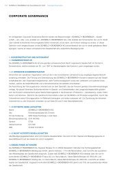 Corporate GovernanCe - Schmolz + Bickenbach AG