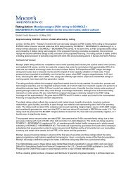 Rating Action: Moody's assigns (P)B1 rating to SCHMOLZ + ...