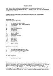 konst. Sitzung vom 28.10.2010 - Amt Büsum