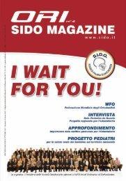 Ori SIDO Magazine 2011 n.2 - Società Italiana di Ortodonzia