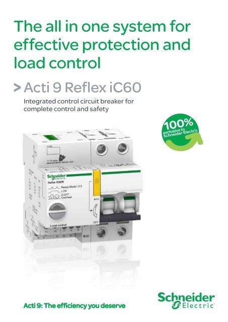 Acti 9 Reflex (pdf - 613 Ko) - Schneider Electric