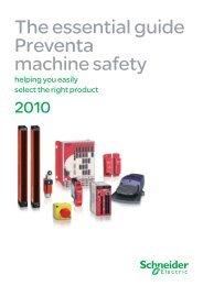 Preventa machine safety guide - Schneider Electric CZ, s.r.o.