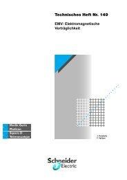 Technisches Heft Nr. 149 - EMV - Schneider Electric