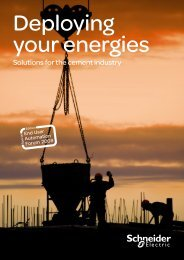 You need to reduce your consumption to be - Schneider Electric