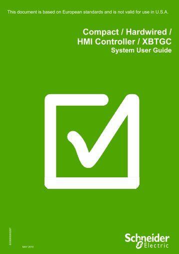 Optimized HW XBTGC - Schneider Electric Site Maintenance Message