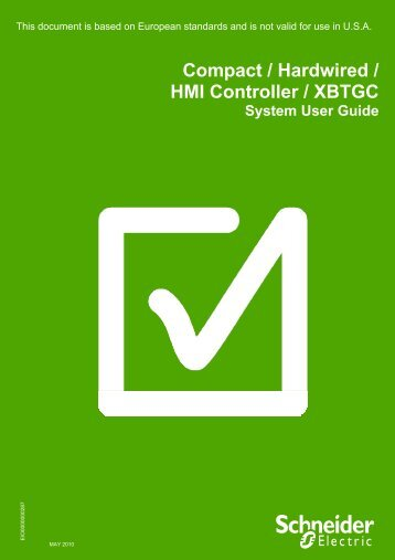 Optimized HW XBTGC - Schneider Electric Site Maintenance Message